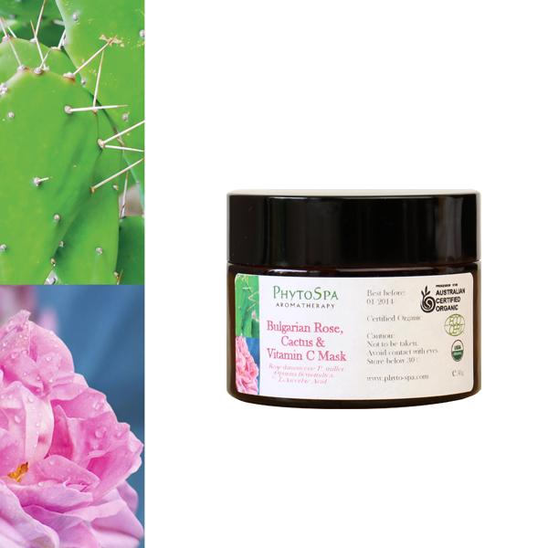 Phyto Spa Aromatherapy 有機玫瑰仙人掌面膜 50g